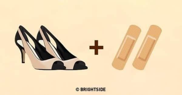cách nới rộng giày chật