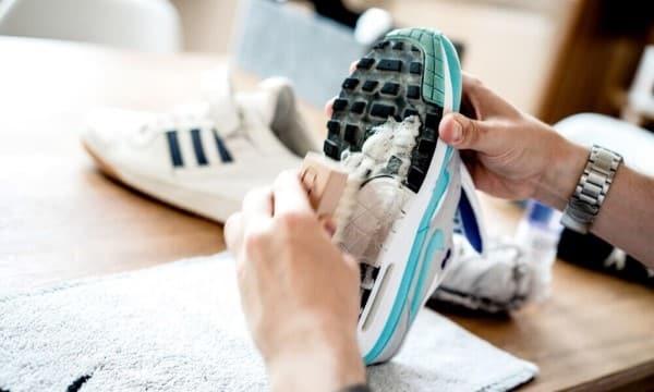 hướng dẫn bảo quản và vệ sinh giày