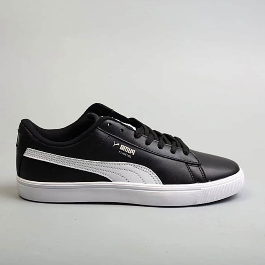 sneakers for cheap ba3ef bbc2e Giày Sneakers Puma BTS Court Star Trainer Unisex Nam Nữ in Black / Đen