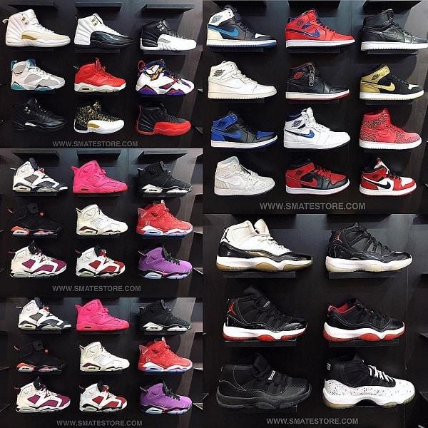 các shop giày thể thao ở tphcm