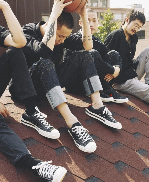 Converse 1970s Low Top Black sành điệu