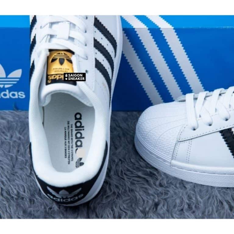 giày adidas superstar nữ chính hãng