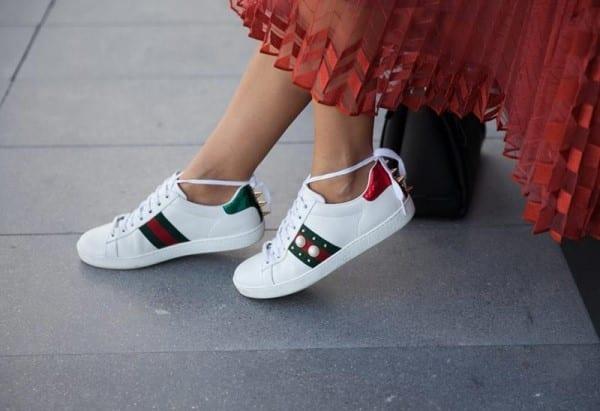 giày thể thao nữ đẹp 2018