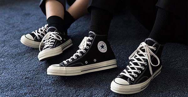 buộc dây giày converse đẹp