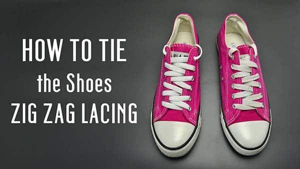 cách thắt dây giày converse cổ thấp
