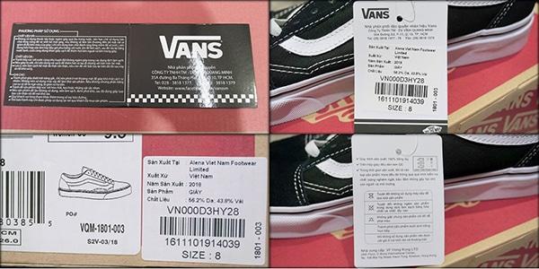 27+ cách test giày vans real để nhận biết vans chính hãng