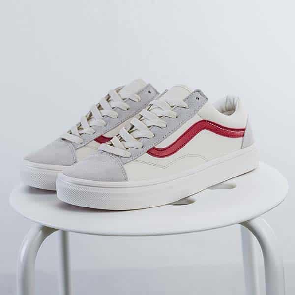 giày vans nữ trắng chính hãng