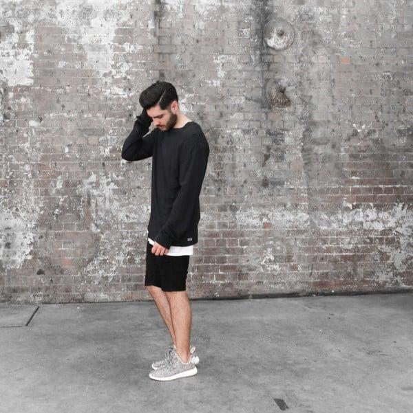 phối quần áo với giày thể thao