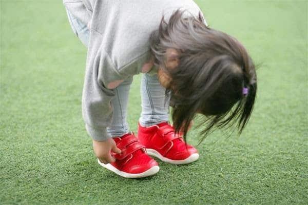 size giày bé gái