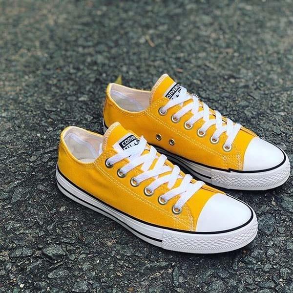 các cách buộc dây giày converse