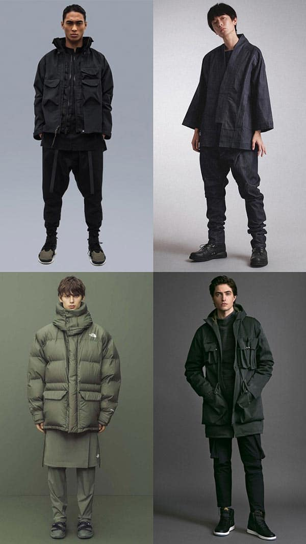 the techwear look