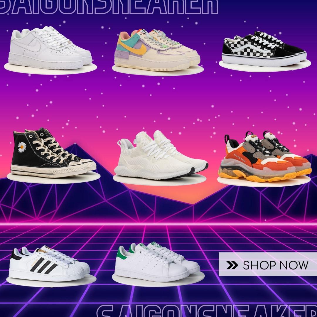 Giày Sneaker - SaigonSneaker